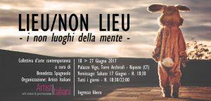 Cartolina Lieu - Non Lieu 21,2x10,2